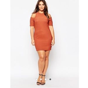 Worn Once Alice & You Cold Shoulder Bodycon Dress